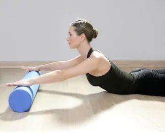 pilates y foam roller