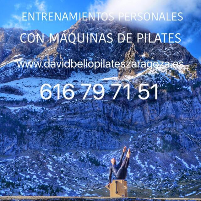PILATES DAVID BELIO ENTRENAMIENTOS PERSONALES CON MAQUINAS DE PILATES