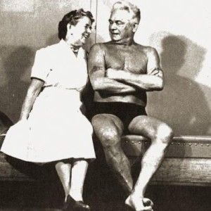 Joseph H. Pilates y su esposa Clara
