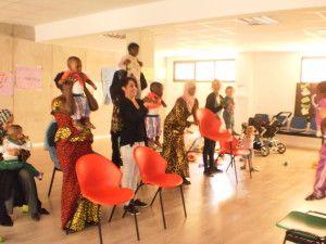 Clases de Pilates para mamás y niños