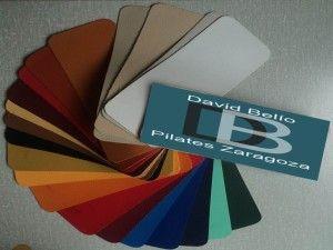 Tableta colores david Belio Pilates Zaragoza