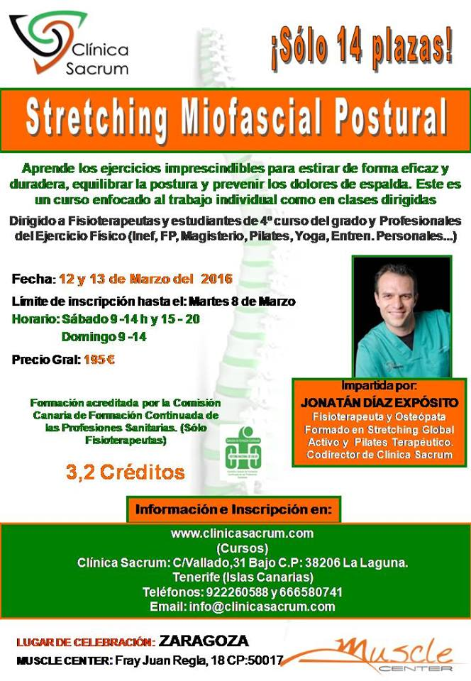 STRETCHING MIOFASCIAL POSTURAL 2016