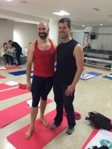 BENJAMIN DEGENHARD AND PILATES DAVID BELIO