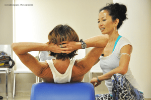 SANDY SHIMODA AND PILATALIA BY PILATES DAVID BELIO