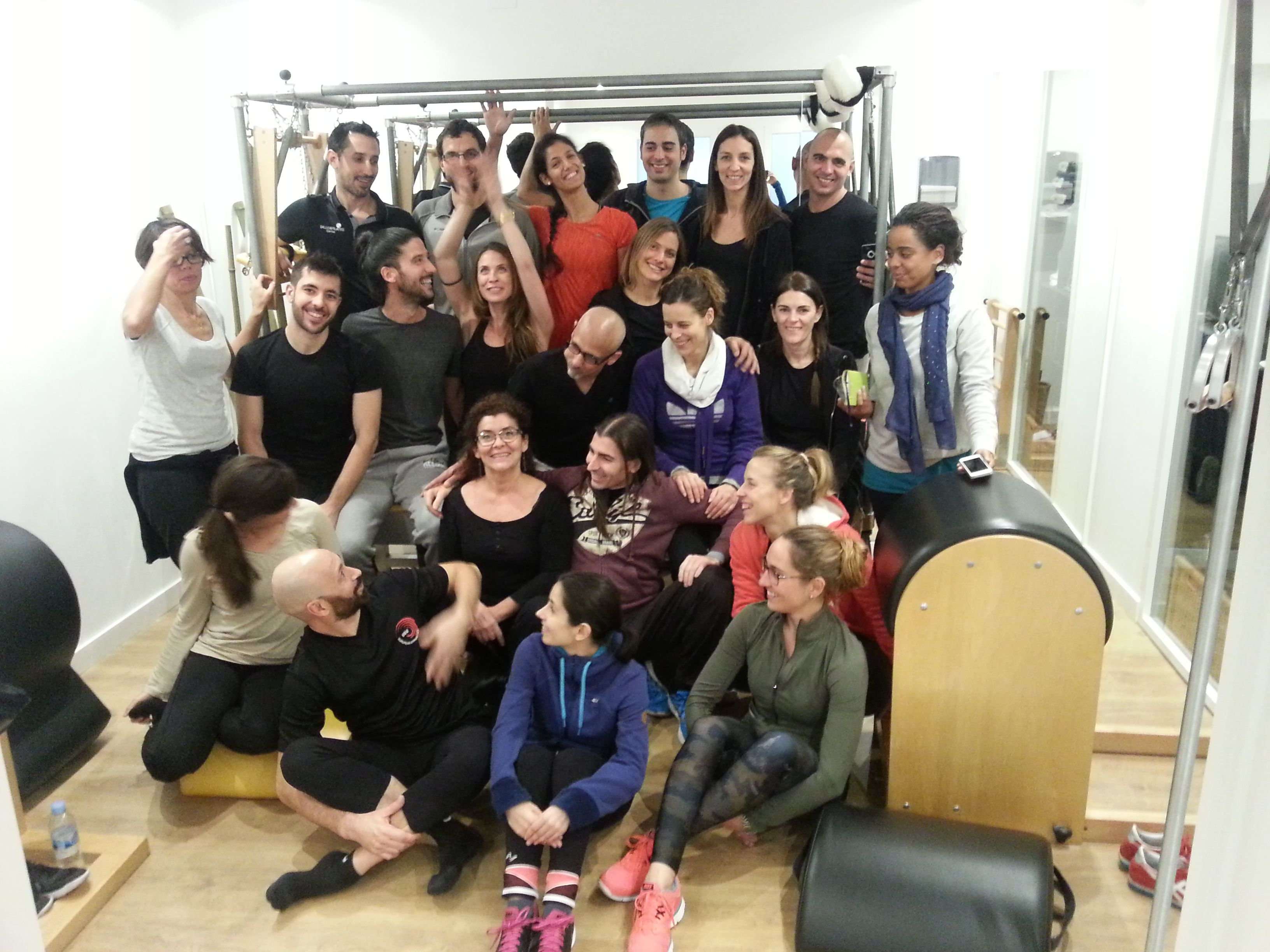 GRUPO WORKSHOP ROMANA'S PILATES POR DAVID BELIO