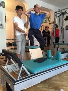 Javier Velázquez en 2DPILATES MADRID por PILATES DAVID BELIO