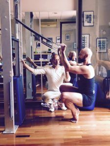 la guillotina de pilates
