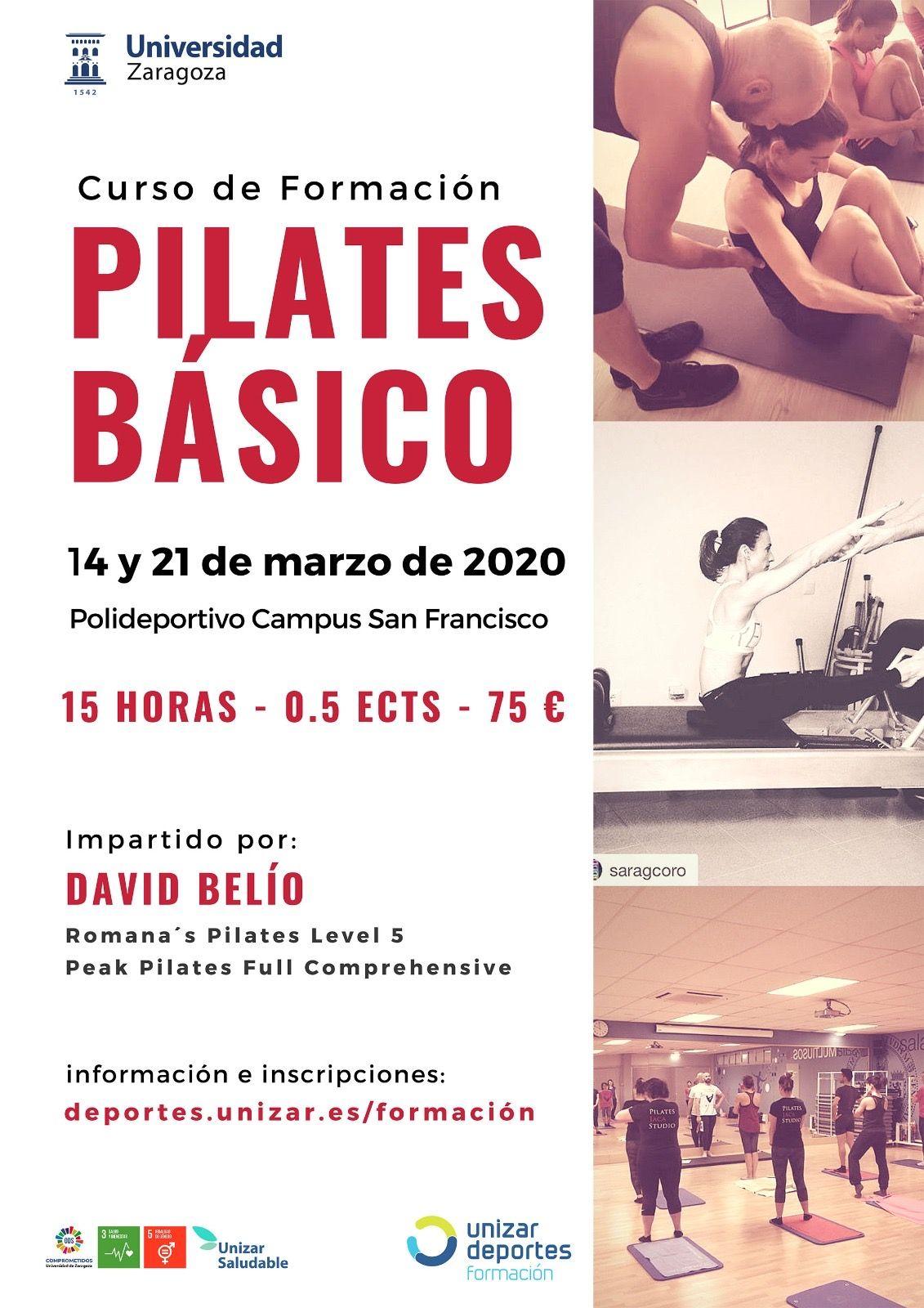 curso basico pilates zaragoza