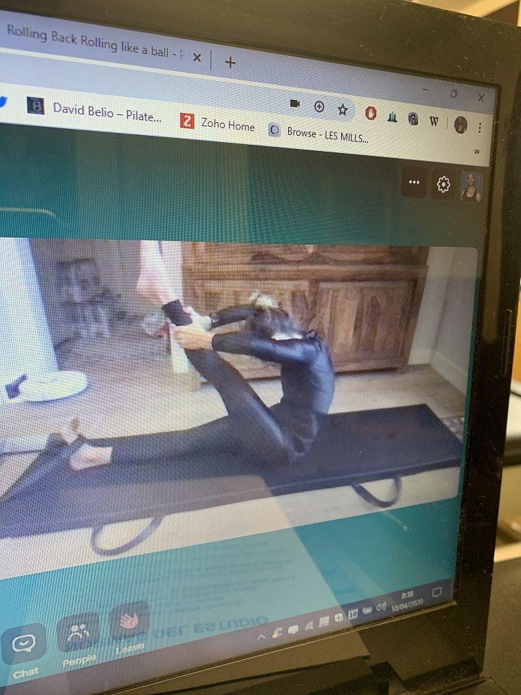 entrenamientos personal de pilates on line